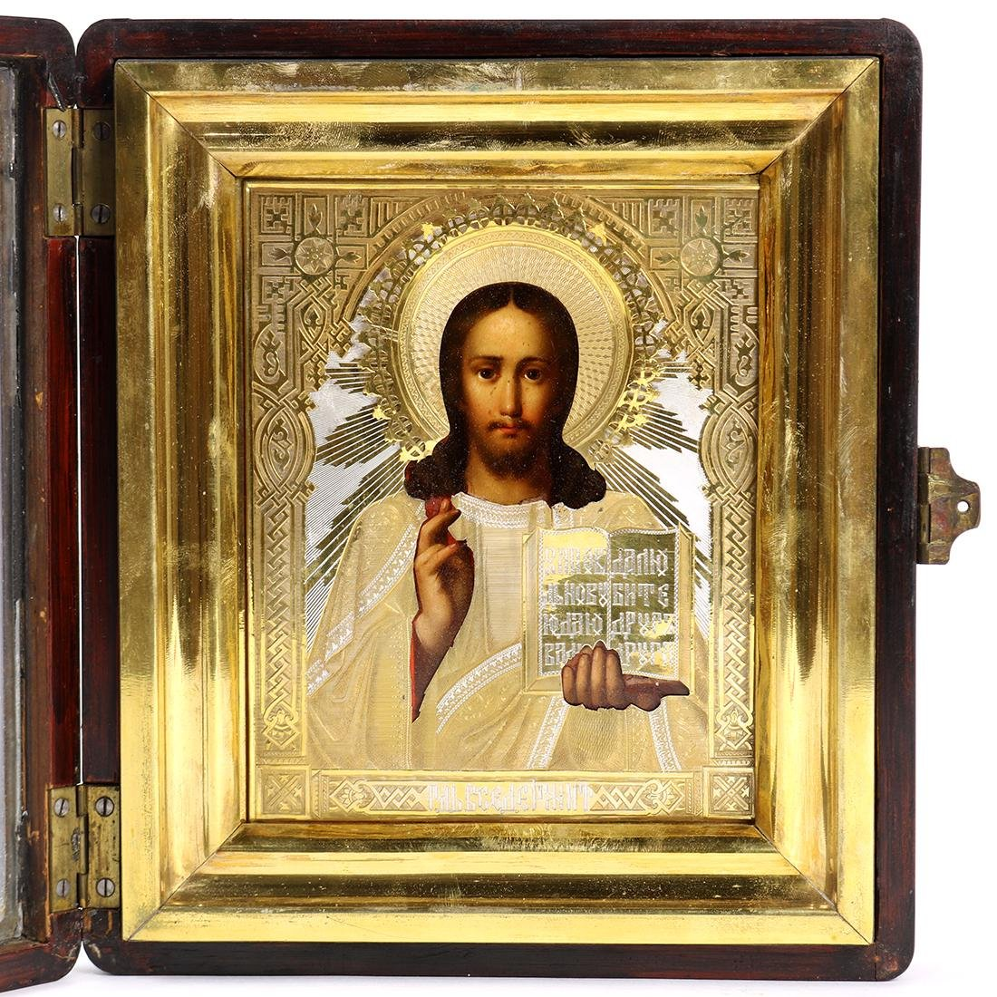 Russian hand painted icon