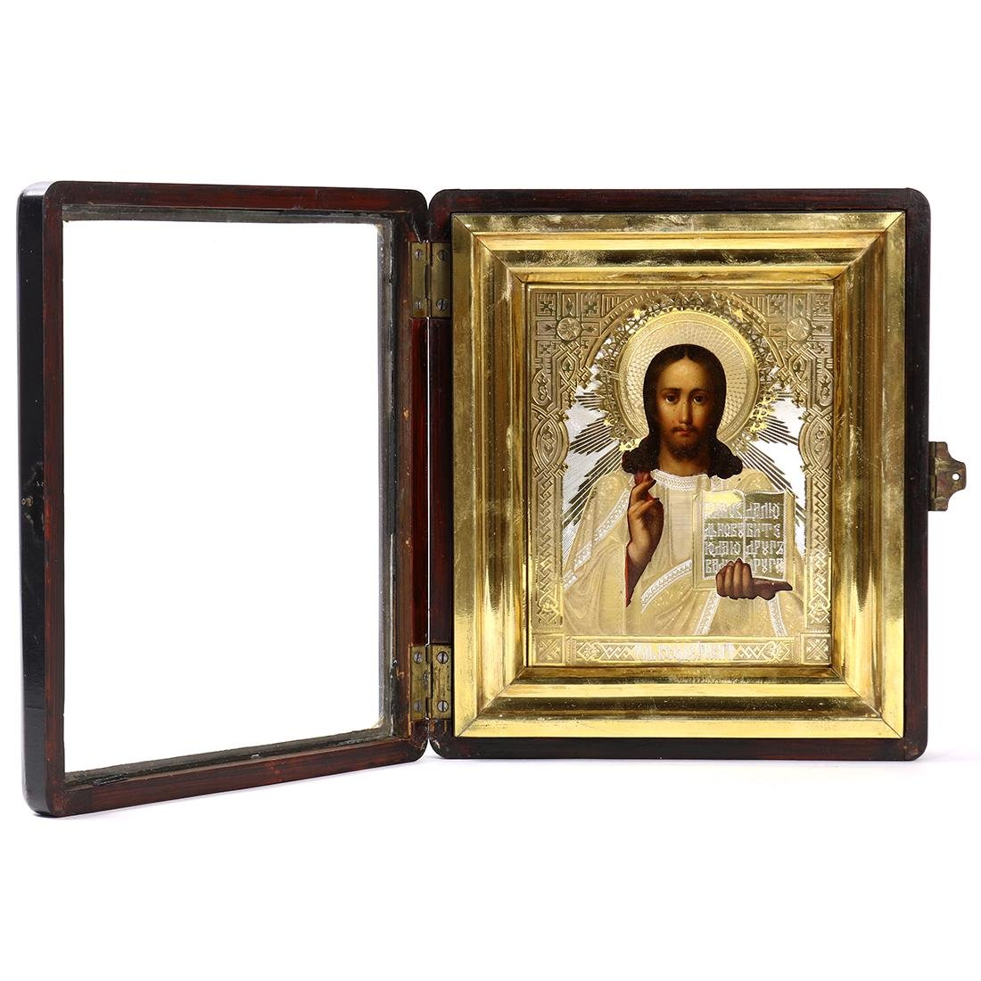 Russian hand painted icon - 2