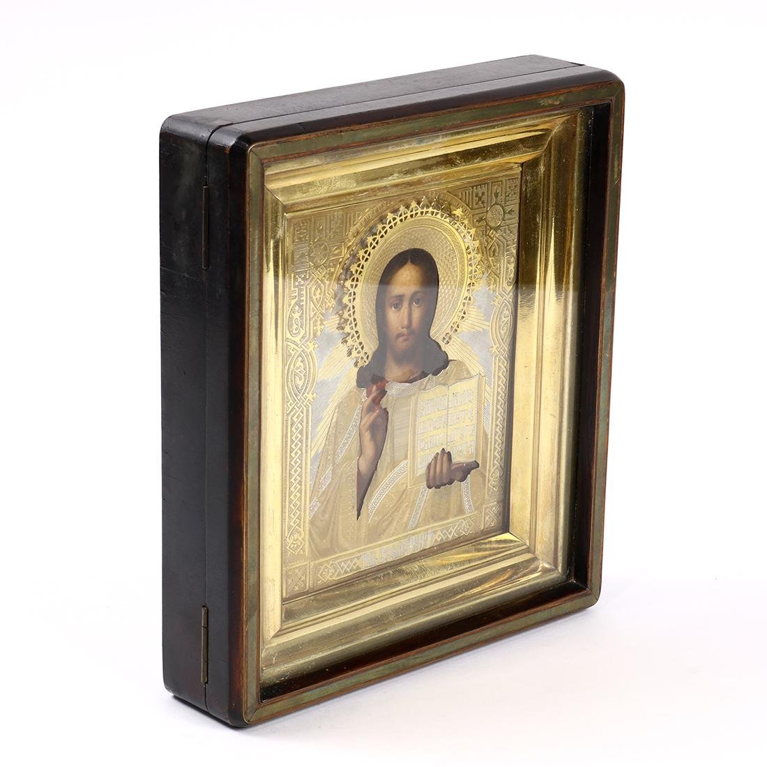 Russian hand painted icon - 3