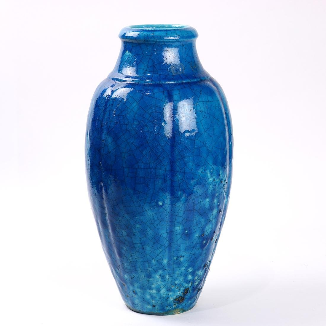 Raoul Lachenal Art Deco vessel, early 20th Century, the