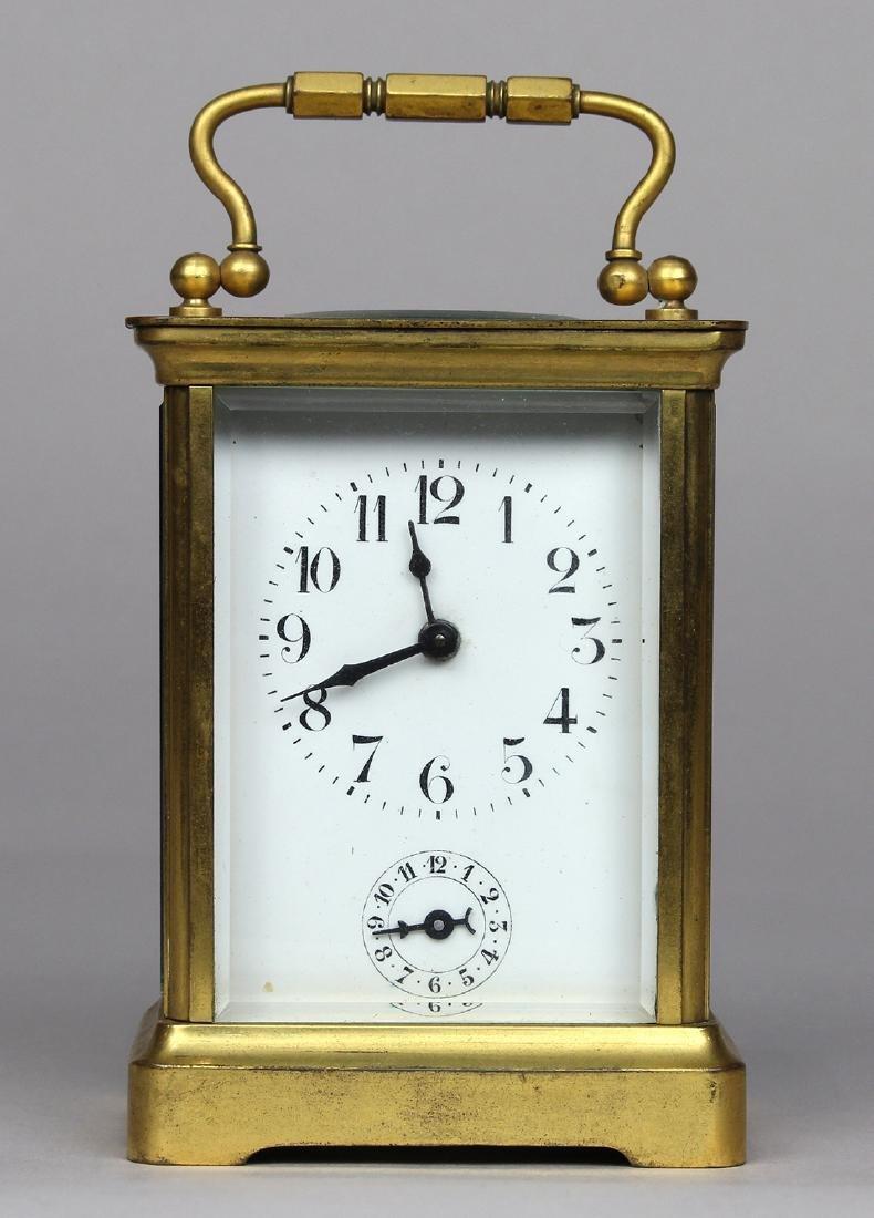 Duverdy & Bloquel carriage clock