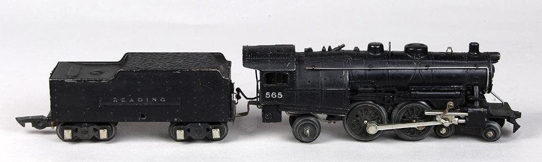 (lot of 4) Vintage toy train group, two marked Lionel, - 3