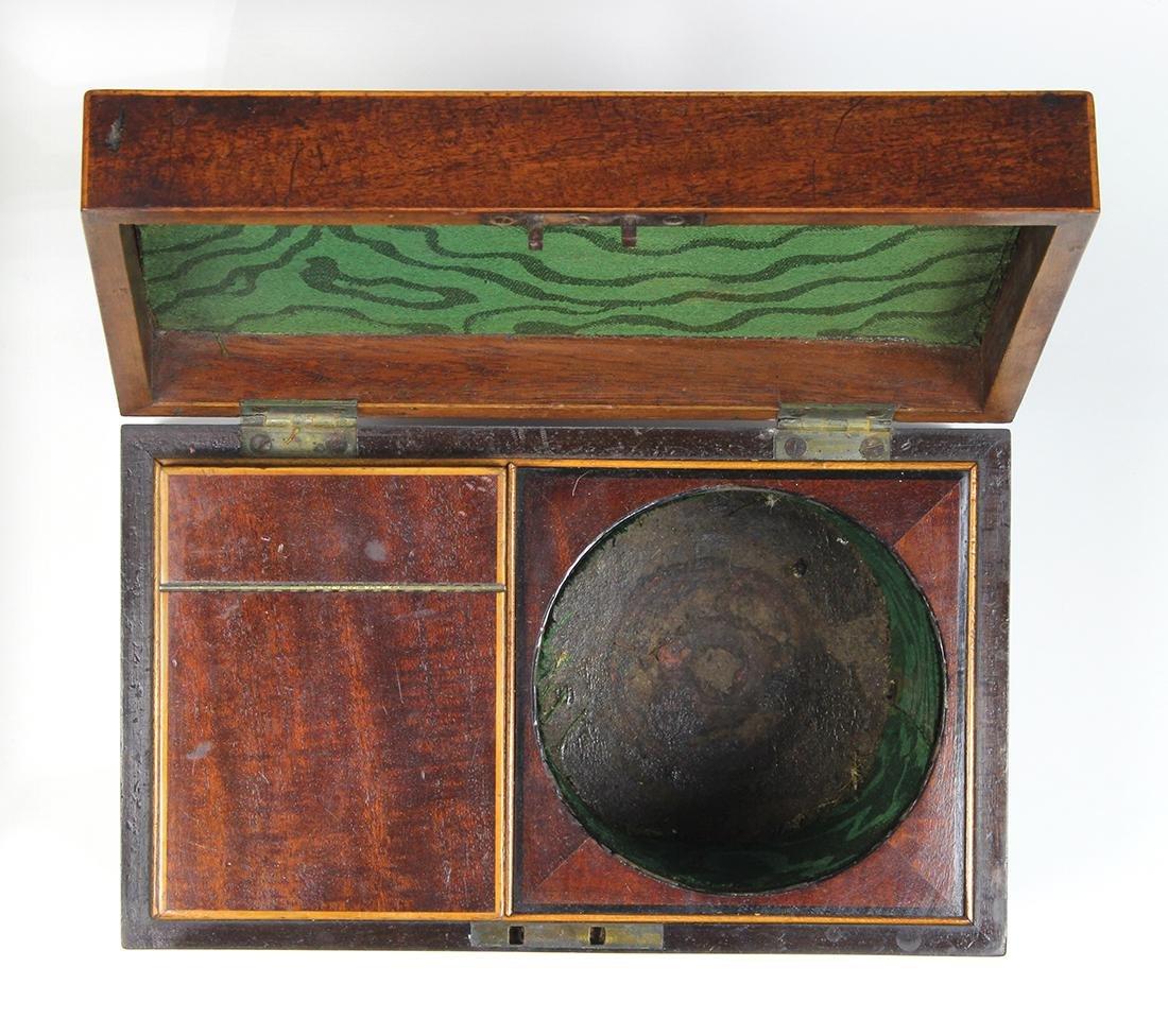 Edwardian mahogany tea caddy, 5 - 5