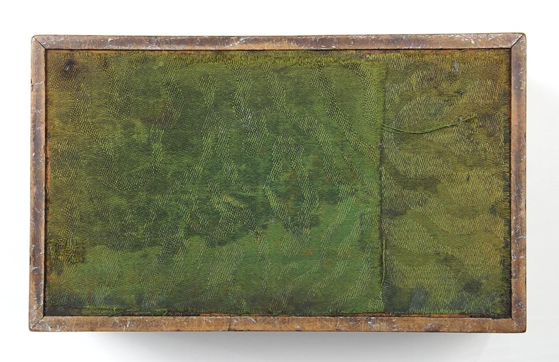 Edwardian mahogany tea caddy, 5 - 7