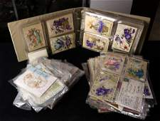 lot of 200 Vintage post card and greeting card