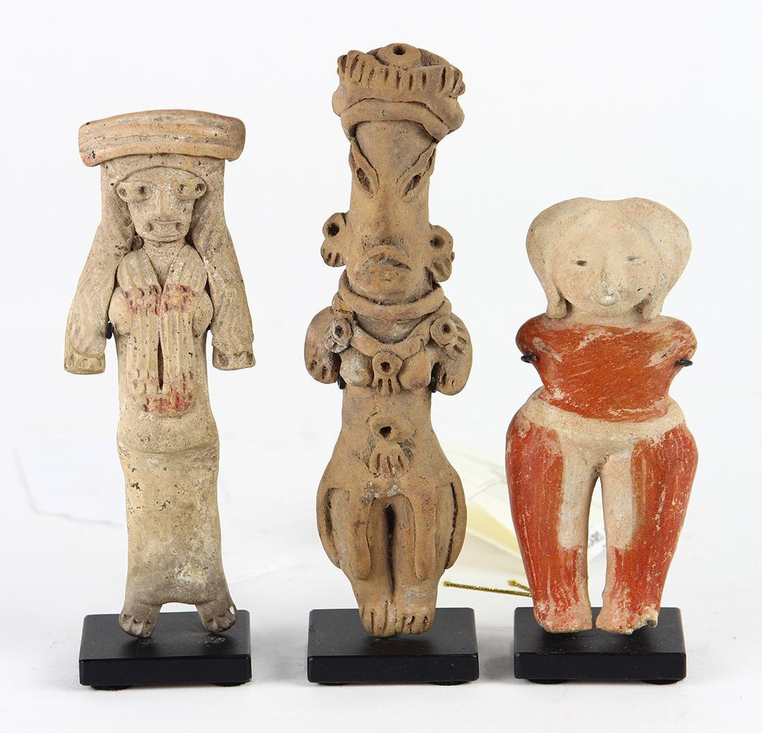 (lot of 3) Pre-Columbian
