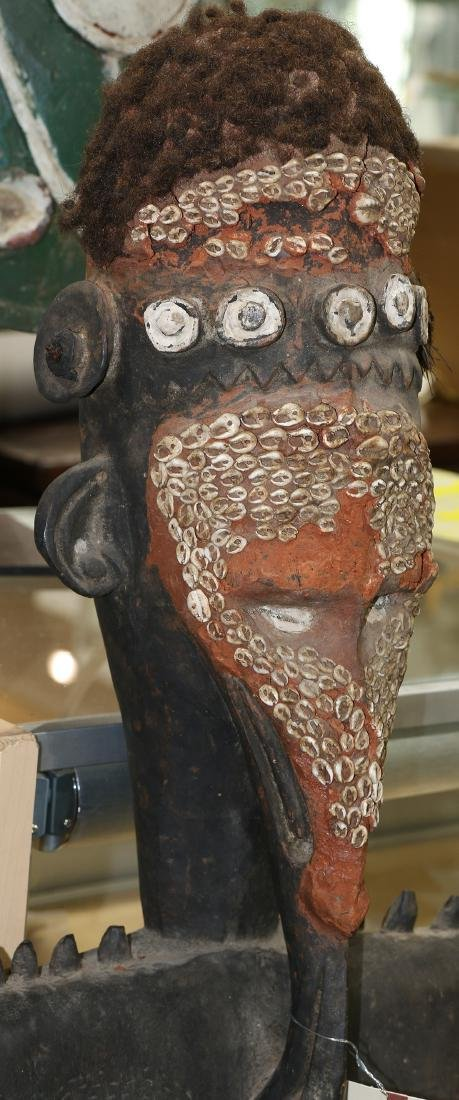 Papua New Guinea style decorative figural sculpture - 2