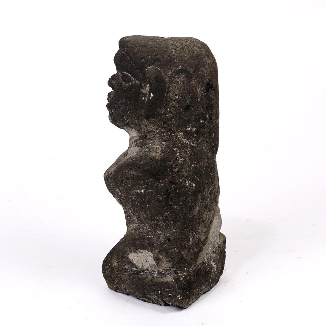Primitive style stone figure - 2