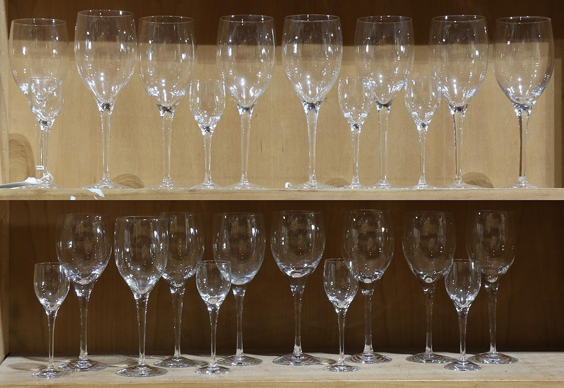 (Lot of 24) Orrefors stemware group