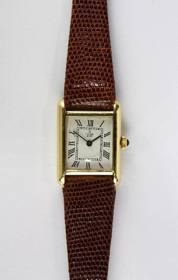 Lady's Concord 14k yellow gold wristwatch