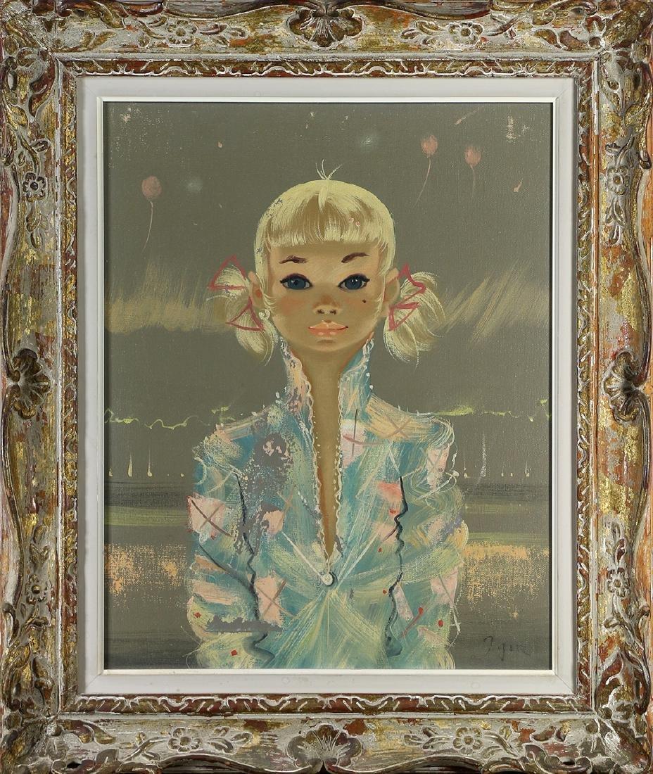 Painting, Follower of Margaret Keane