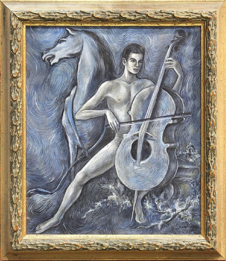 Painting, Tao Izzo
