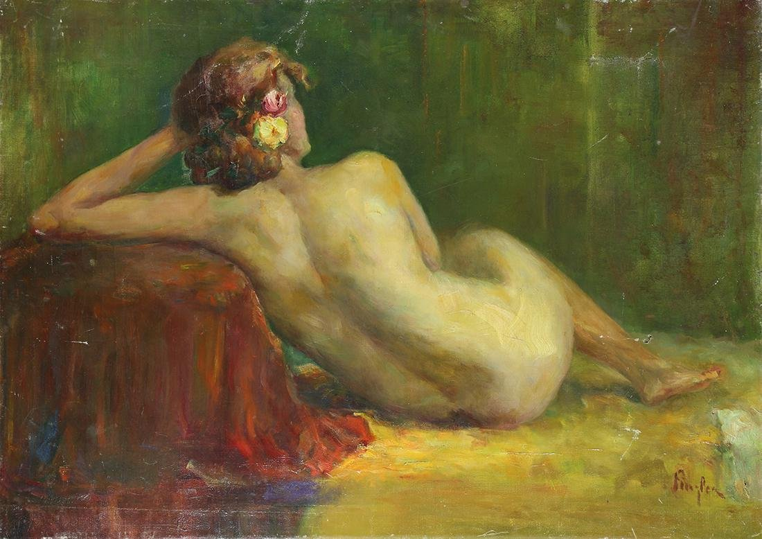 Painting, Nude in Repose