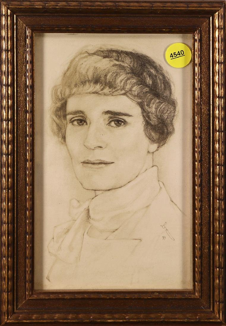 Drawing, Portrait of a Lady
