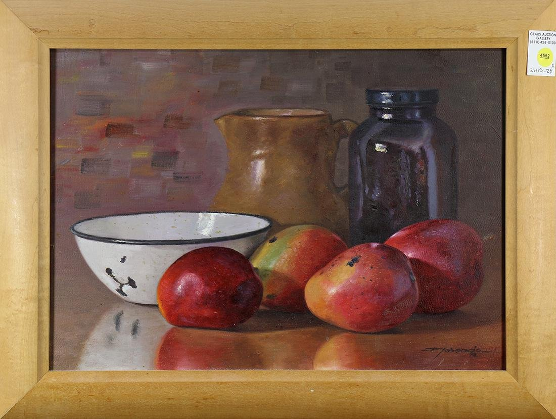 Painting, Still Life with Fruit, Jar, Pitcher and Bowl