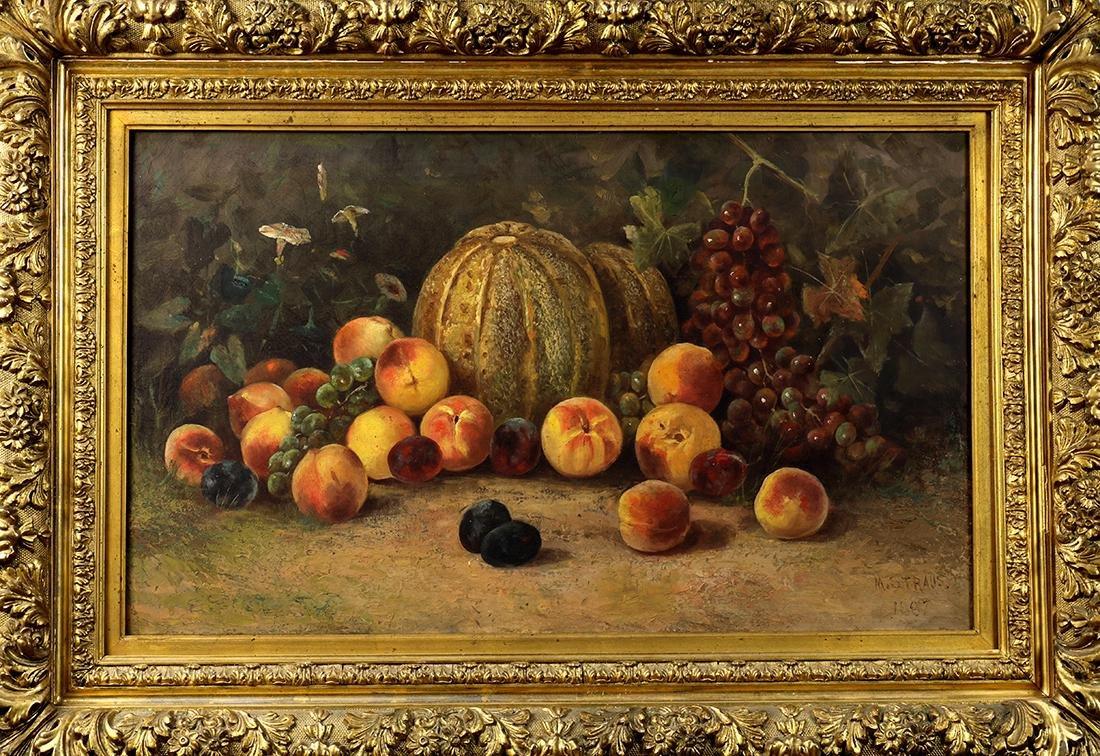 Painting, Meyer Straus