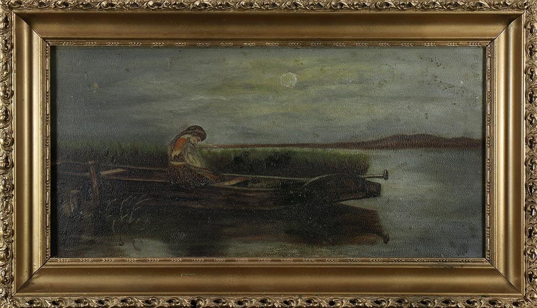 Painting, California Folk Art School (19th century)
