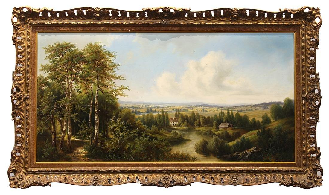 Painting, Joseph Jacob Burgaritzky