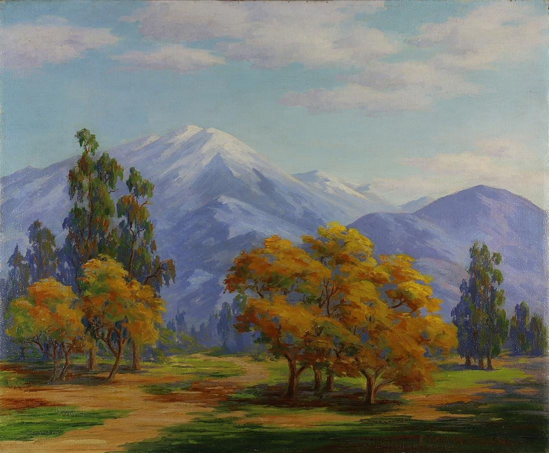 Painting, Earl Graham Douglas