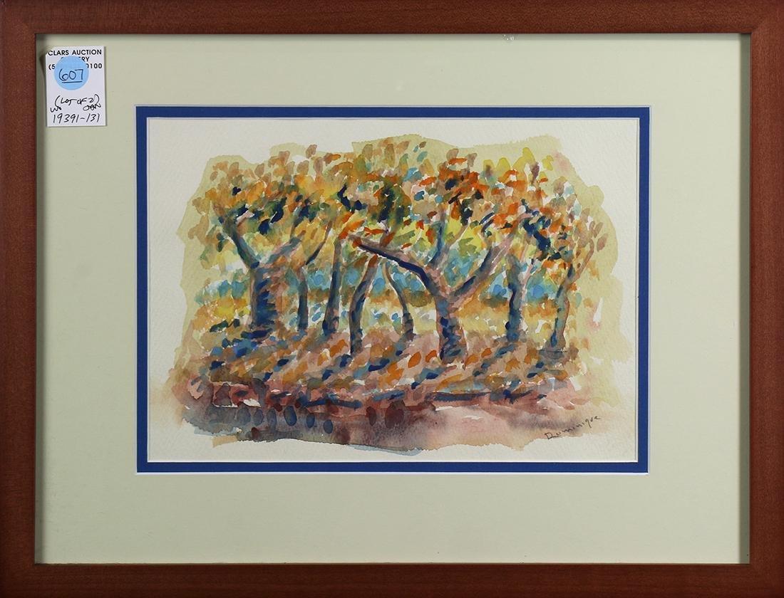 Watercolors, John A. Dominique