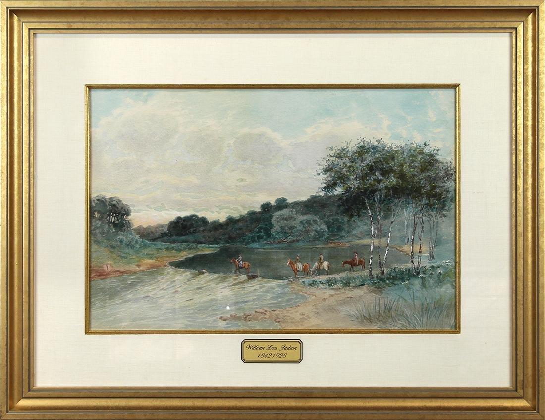 Watercolors, William Lees Judson
