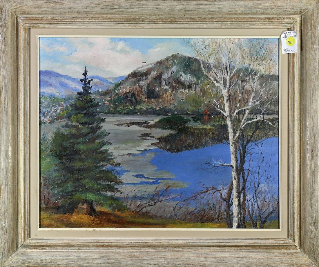 Painting, Lake Landscape
