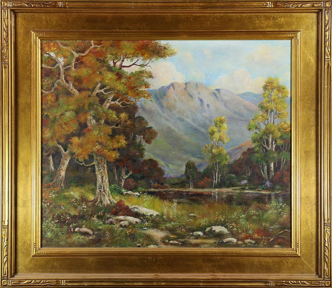 Painting, Ethel Sparks