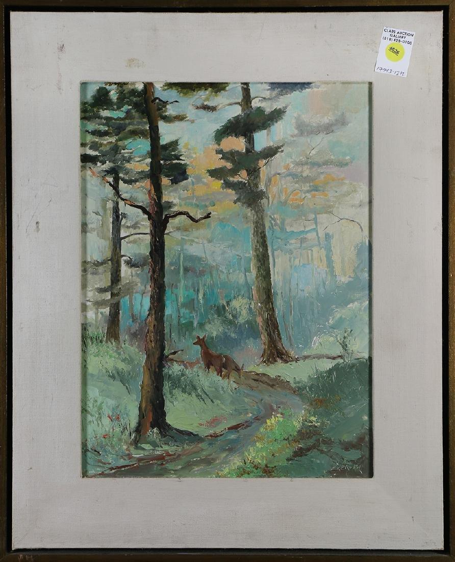 Painting, Deer in the Woods