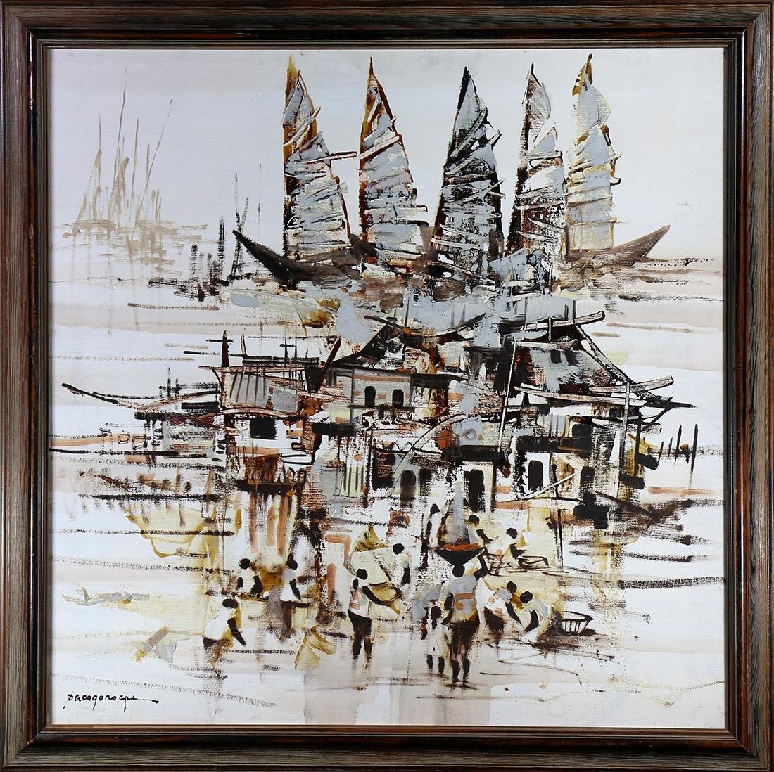 Painting, Paco Gorospe