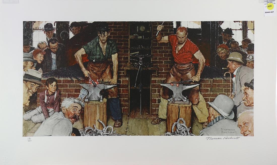 Print, Norman Rockwell