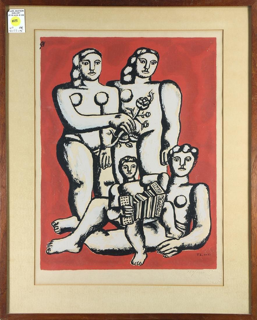 Print, After Fernand Leger