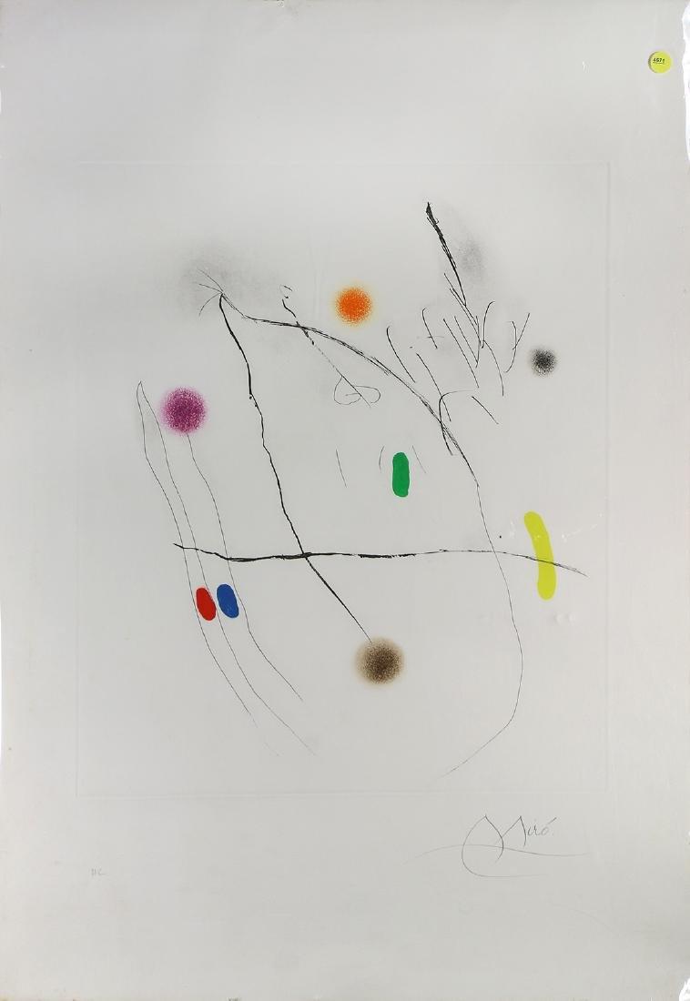 Print, After Joan Miro