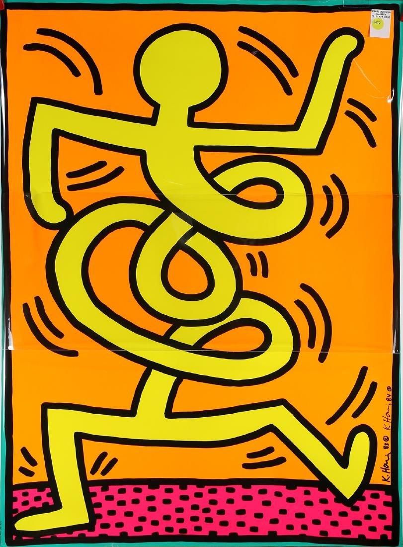 Print, Keith Haring