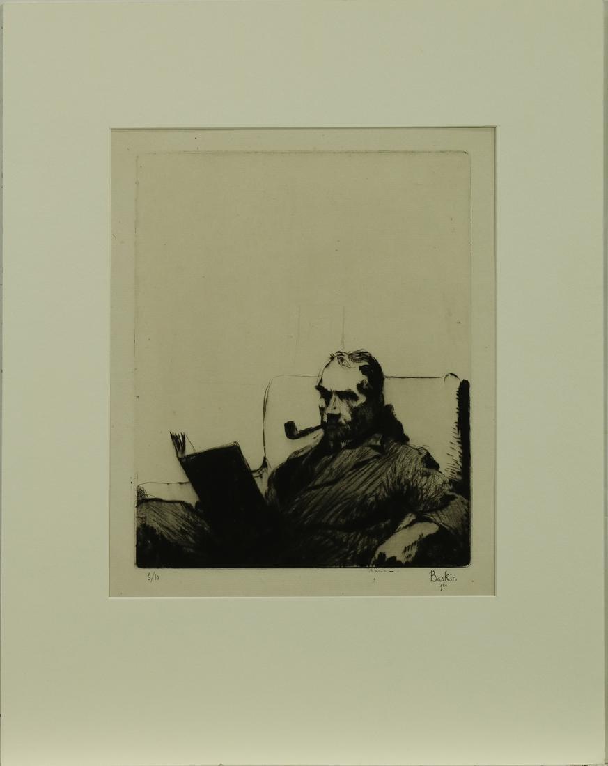 Print, Leonard Baskin