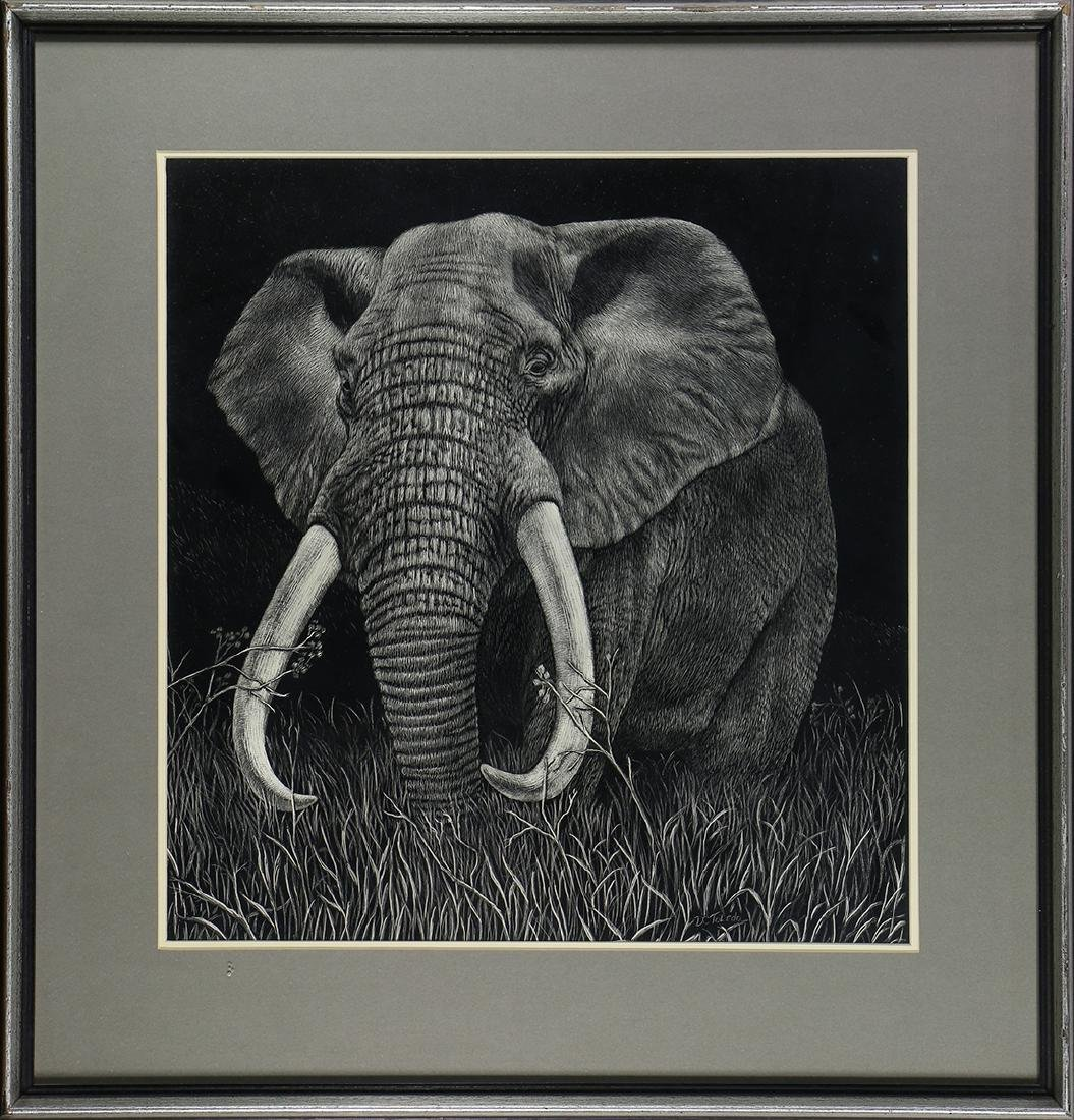 Print, Daniel C. Toledo, Elephant