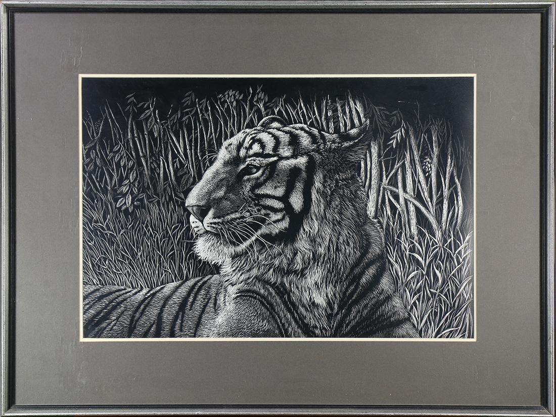 Print, Daniel C. Toledo, Tiger