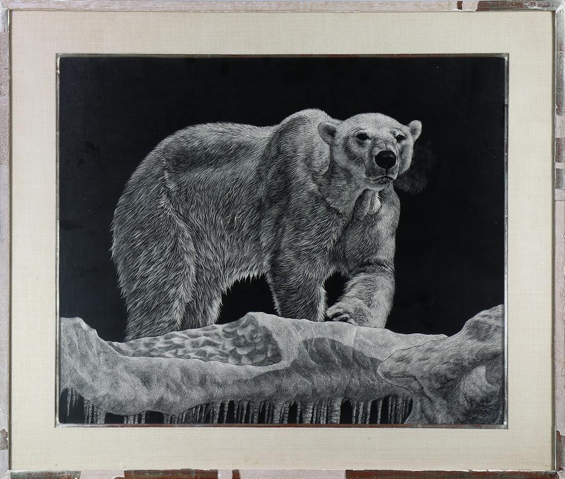 Print, Daniel C. Toledo, Polar Bear