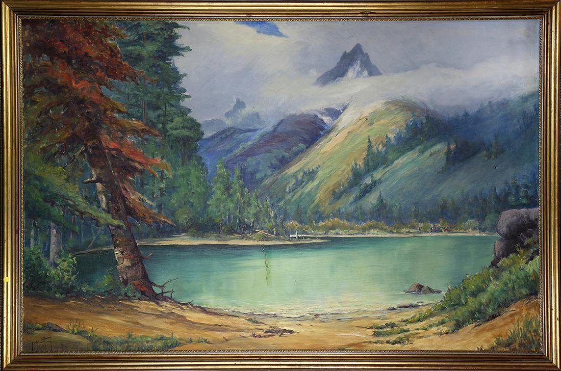 Painting, Frank Cutting