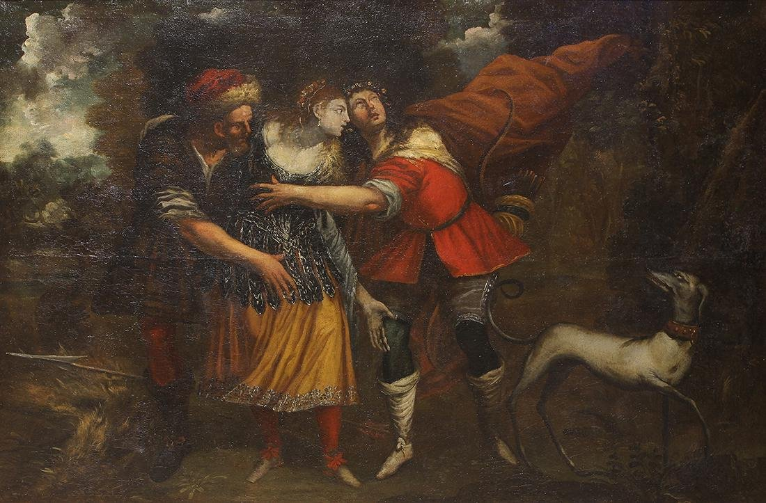 Painting, Attributed to Luca Cambiaso