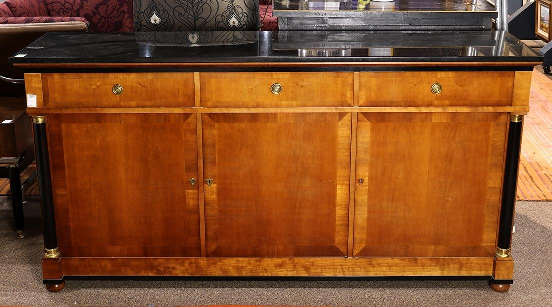 French Neoclassical style sideboard