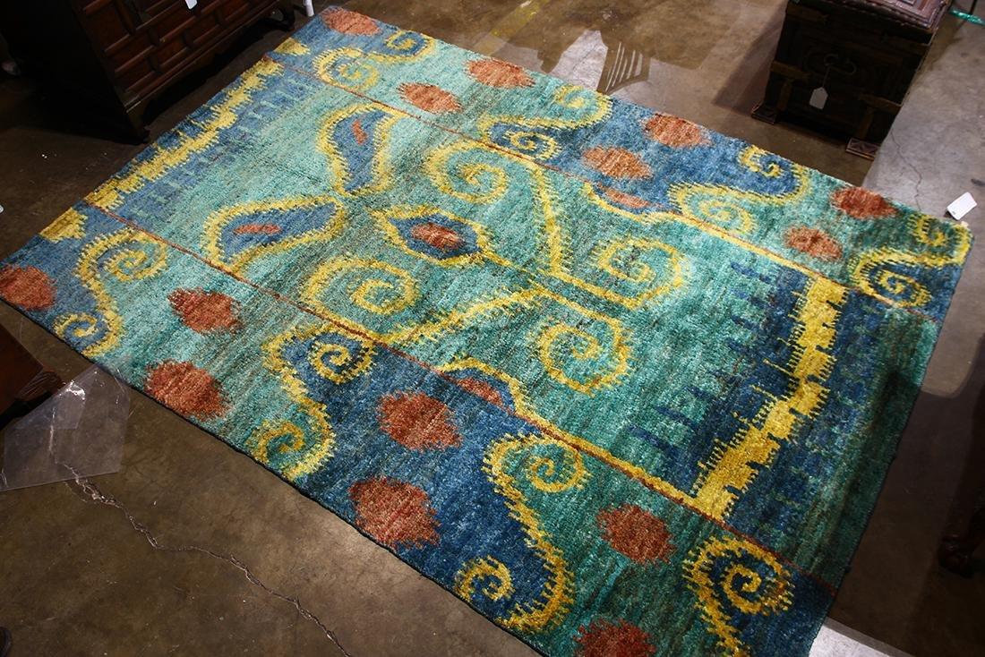 Modern transitional rug, 6' x 9'