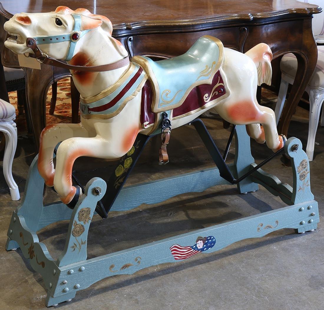 Allan Herschell diminutive carousel horse