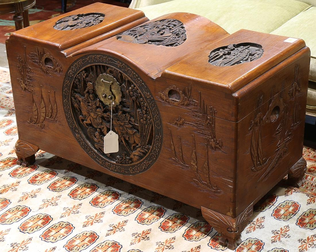 Chinese camphor chest