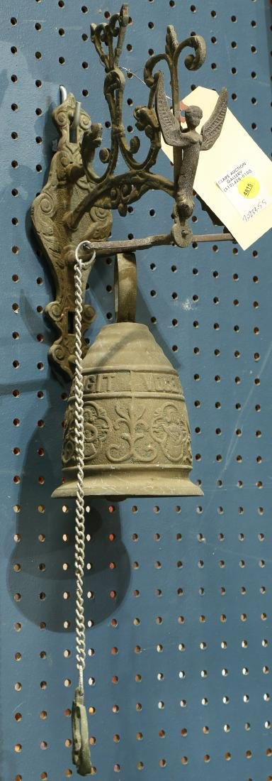 German wall hanging bell, early 20th Century, having