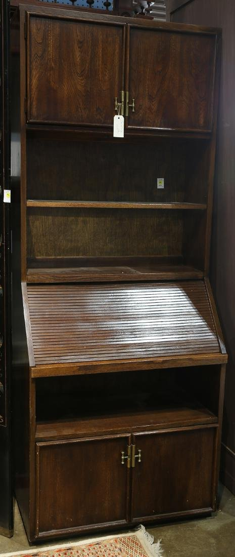 Stanley furniture Mid Century bookcase bureau