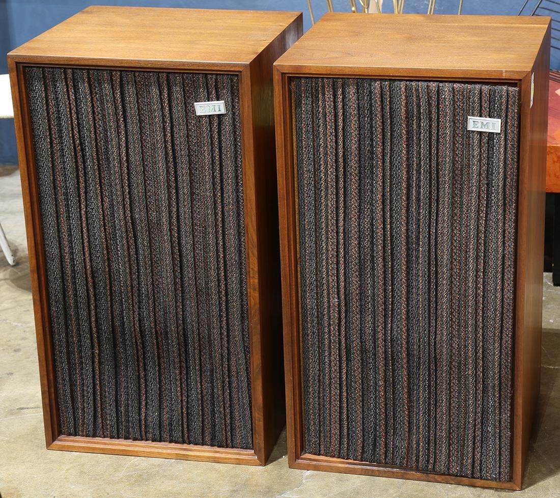 Pair of EMI speakers