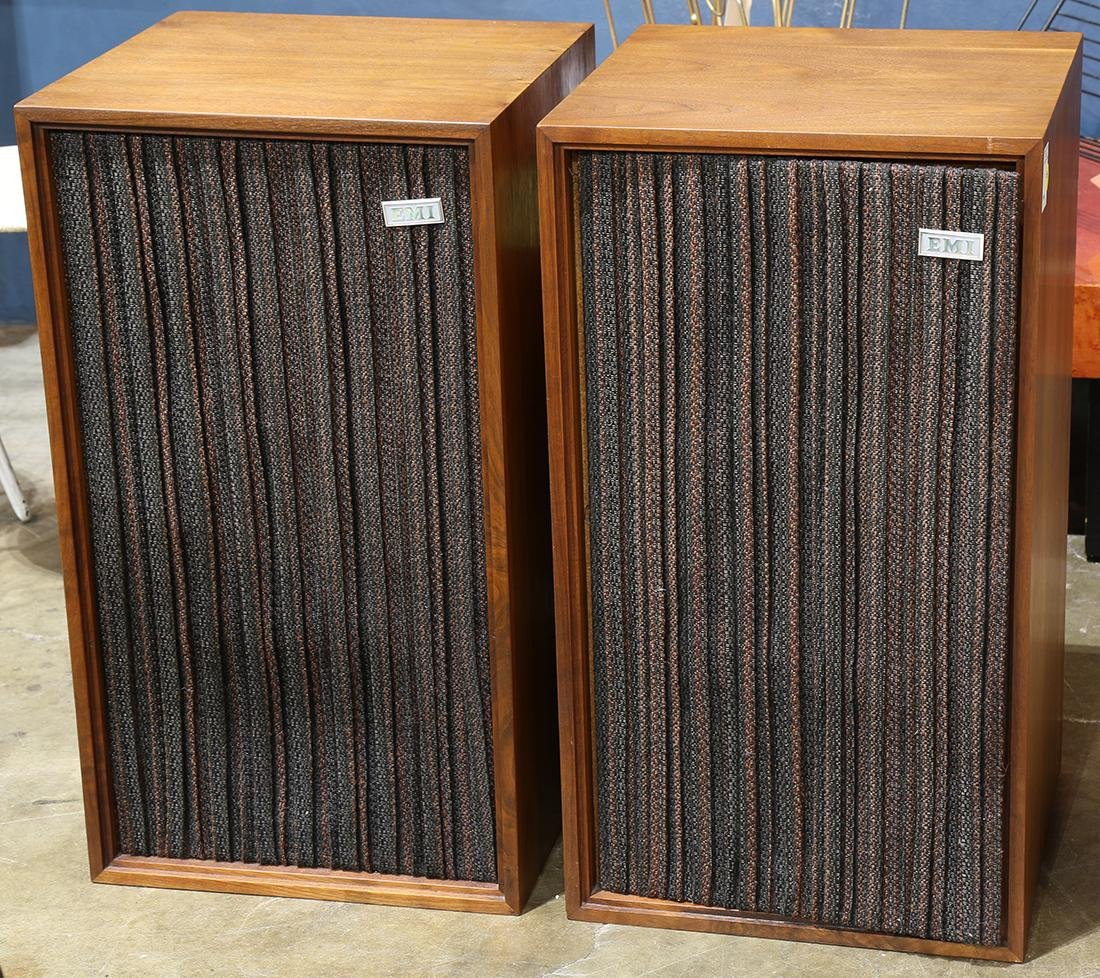 Pair of EMI speakers