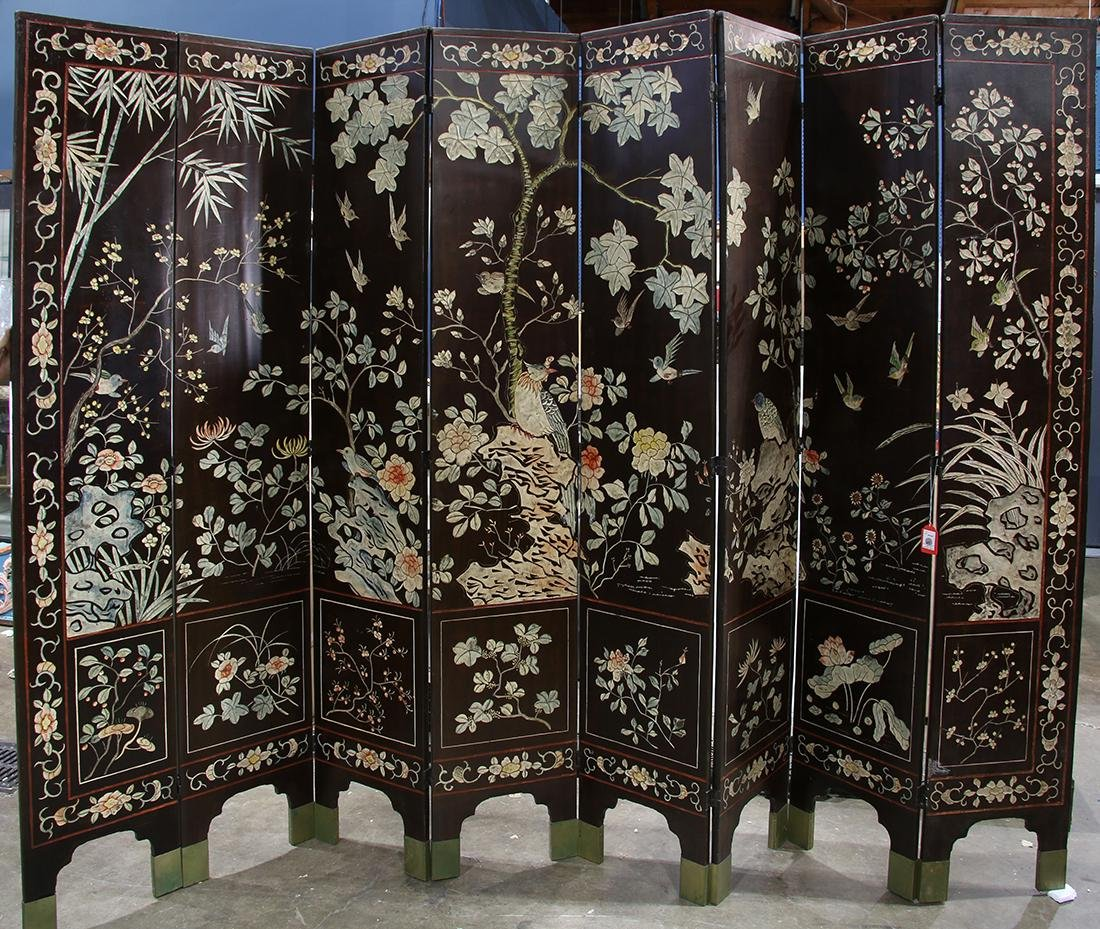 Chinese Large Coromandel Screen