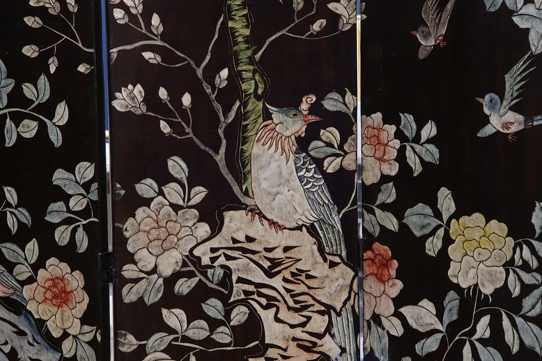 Chinese Large Coromandel Screen - 2