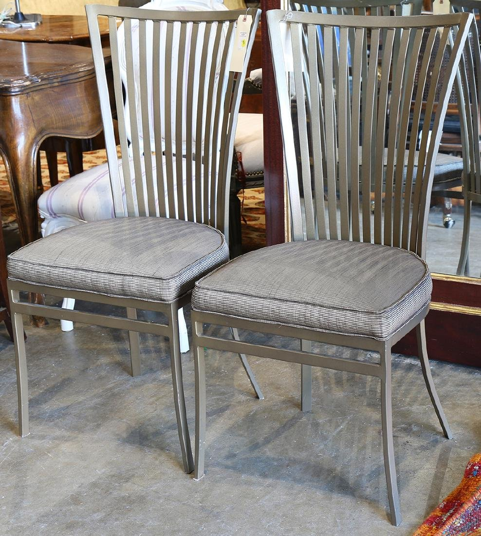(lot of 6) Moderne Johntson Causal dining chairs